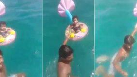 Leka sesaat, ibu bapa cemas bayi 18 bulan, hanyut tengah laut