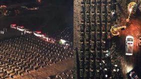 Terpaksa guna jentera pengorek gali kubur, Indonesia catat lebih 9,000 kematian sehari