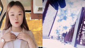 Demi content, influencer wanita maut terjatuh kren setinggi 160 kaki