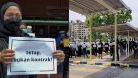 Warganet sedih, pertama kali tengok doktor mogok. 13 gambar 'rare' hospital Malaysia