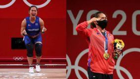 Berbaloi berlatih di garaj Jasin, Melaka Hidilyn Diaz raih emas pertama Filipina