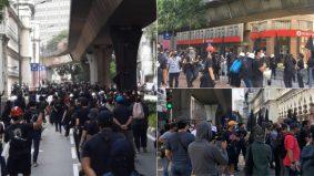 Demonstrasi serba hitam, warga maya risau wujud kluster Covid-19