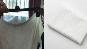 Kain pengelap disangka bendera putih, wanita terima 'bantuan' 40 minit selepas kain dijemur