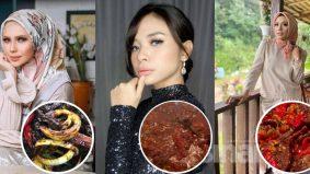 [VIDEO] Air tangan Che Ta, Shiha, Zulin, koleksi masakan daging