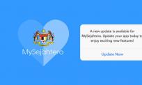 Update, nikmati versi terkini MySejahtera. Ikut 4 langkah mudah