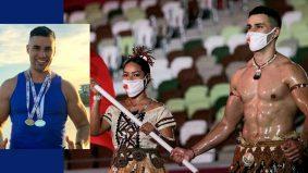Pembawa bendera Tonga, curi tumpuan ramai