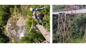 Kekasih maut selepas terjun bungee akibat salah faham