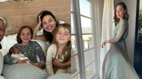 Selamat lahirkan anak ketiga, Gal Gadot kongsi nama dan wajah anak