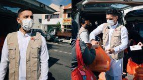 Prihatin nasib golongan memerlukan, PU Riz tampil bantu 110 keluarga