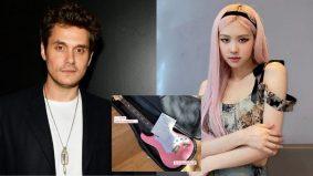 Rose Blackpink terima hadiah istimewa daripada John Mayer