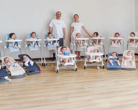Impi mahu 105 orang anak, pasangan jutawan Rusia ini sanggup berbelanja lebih RM4.6 juta