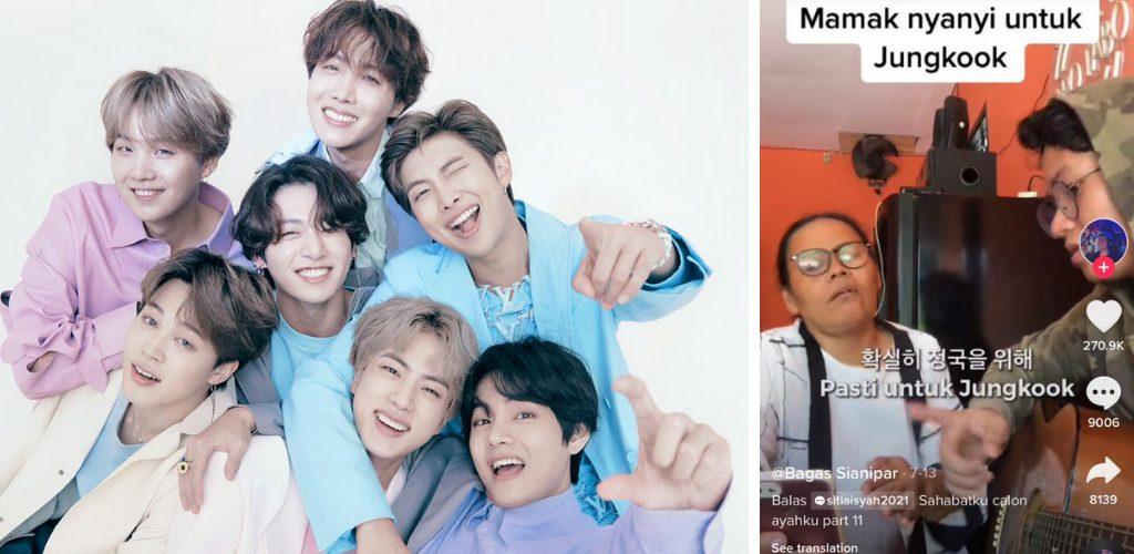 Peminat BTS tak kira umur dan negara wanita fasih menyanyi dalam bahasa Korea