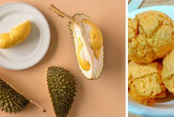 Aiskrim Durian 'homemade' 5 bahan, sedap dan gebu