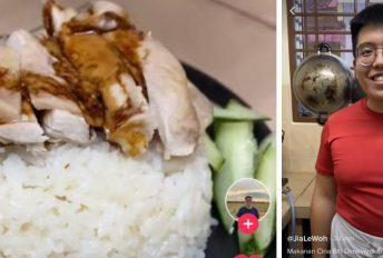 Hainan Chicken Rice, resipi mudah disediakan.