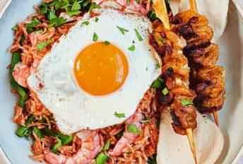 Nasi Goreng Ping Coombes dengan sambal belacan, sajian tetangga Indonesia. Rasa serumpun satukan kita