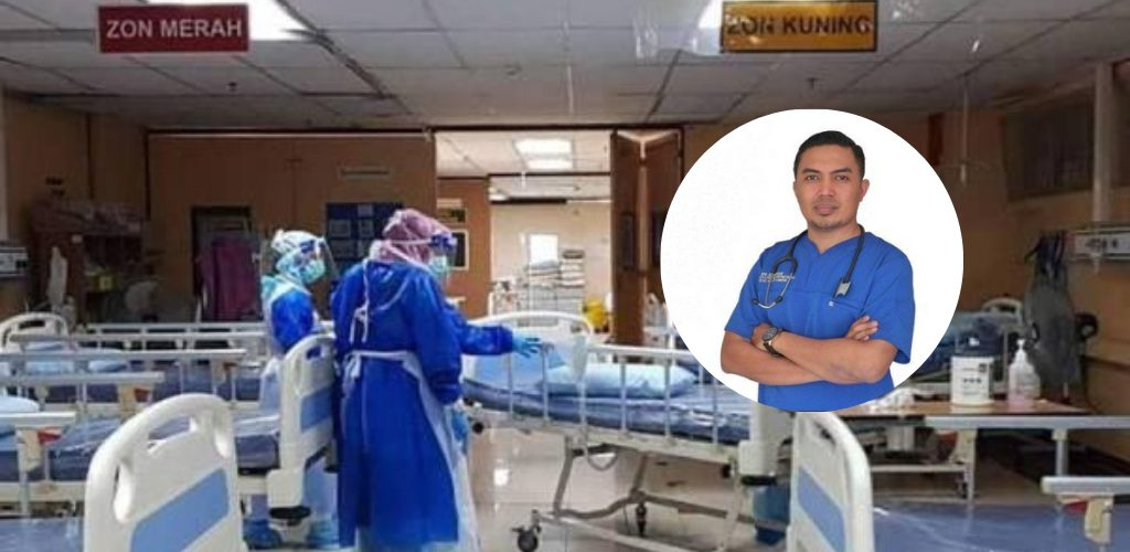 'Tidak' dibenarkan sakit, hospital kurang katil. Doktor pesan orang ramai jaga kesihatan