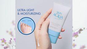 Takut dengan kedutan, garis pada wajah? Mungkin boleh cuba Sunplay Skin Aqua, jenama dari Jepun.