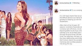Kim Kardashians umum berita mengejutkan: Keeping Up With The Kardashians ditamatkan selepas 14 tahun