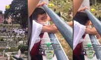"[VIDEO]""Ayah, ayah, ayah…""- laungan budak 8 tahun luluh hati warganet"