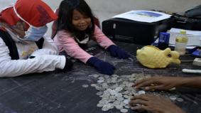 Covid-19: Kanak-kanak 6 tahun derma duit tabung untuk petugas hospital