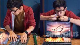 [VIDEO] Sofyank guna pam angin untuk dapatkan laptop bangsawan!