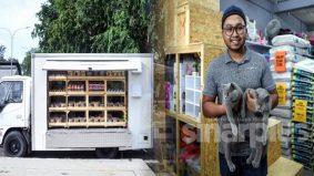 Akibat keluhan ramai peminat kucing, jururawat tawar perkhidmatan 'Mobile Pet Truck'