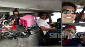 Dulu mewah bergaji RM600 sehari, pilot kini bergelar rider Food Panda