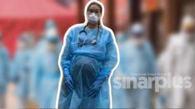 Covid-19 : Doktor hamil 30 minggu masih bertugas di hospital