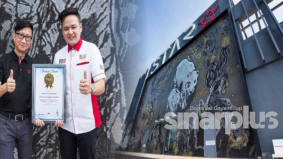 Mural mozek RM1.5 juta, catat sejarah Malaysia Book of Records