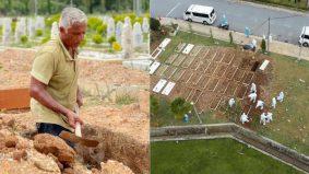 Sediakan 40 liang lahad untuk jenazah Covid-19 sehari, penggali kubur terima Anugerah Tokoh Frontliner Khas