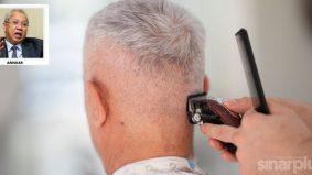 Makeover rambut gelandangan raih perhatian netizen