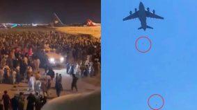 3 jatuh dari kapal terbang, rakyat Afghanistan nekad tinggalkan negara