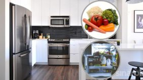 Makanan tin berkulat, sayur lembik jejas kebersihan peti ais