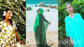 #OOTD di pulau persis fesyen selebriti popular