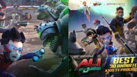 Ejen Ali Misi: Juang menang anugerah Animasi 3D Terbaik