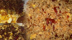 Nasi goreng cili kering versi opah… Aduhai simple dan sedap