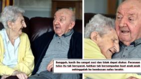 Kasihnya ibu… duduk rumah jagaan bersama tetap manjakan anak usia 80 tahun