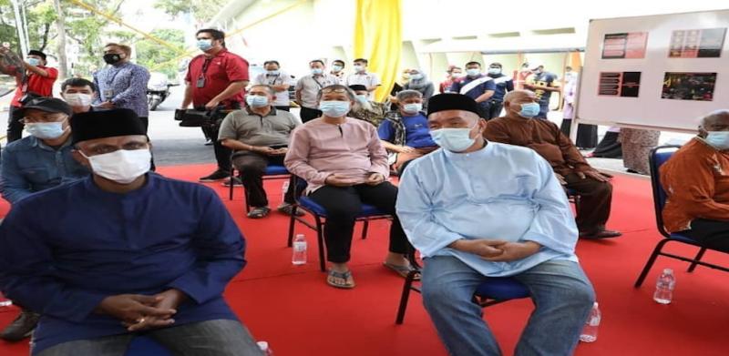 Yang di-Pertuan Agong berkenan santuni 49 gelandangan