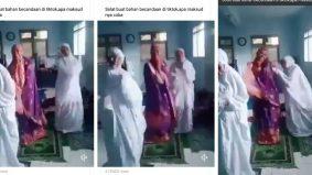 Bercanda waktu solat dengan TikTok, 3 gadis ini dikecam netizen