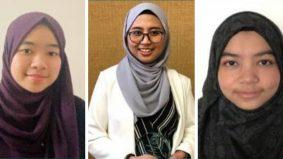 3 gadis Melayu cemerlang akademik di Michigan State University harumkan nama Malaysia