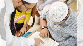 Wajib berguru walaupun belajar ngaji online
