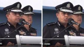 [VIDEO] Deep bacaan talkin oleh Ketua Polis Johor ni. Cuplikan ucapan tarik perhatian warganet