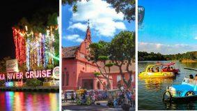 5 'port' jalan-jalan lokasi outdoor di Melaka