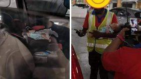 Lagi kes tinggal budak dalam kereta, alasan risau pengurusan mall tak benarkan sebab Covid-19
