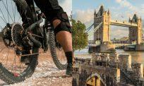 London rai bebas 'lockdown' dengan kayuhan basikal tanpa berpakaian