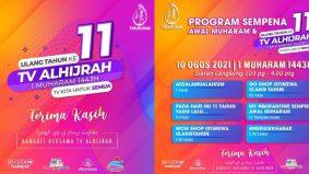 TV Alhijrah sambut ulang tahun ke-11, tayang seleksi program istimewa