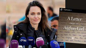 Demi rakyat Afganistan, Angelina Jolie akhirnya buka akaun Instagram