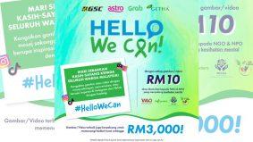 Hari Merdeka tak lama lagi, jom bangkitkan mood dengan sertai kempen Hello, We Can! anjuran GSC. Hadiahnya memang best!
