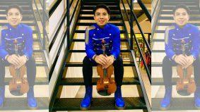 Berzapin sambil menggesek violin, nama Aqmal Daniel semakin dikenali dan dilamar produksi filem