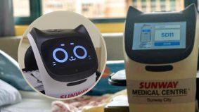 Empat robot 'dilantik' berkhidmat di Pusat Perubatan Sunway. Ini tugas-tugas yang BellaBot perlu lakukan
